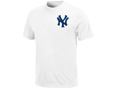 New York Yankees Majestic MLB Men's Official Wordmark T-Shirt