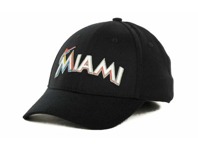 Miami Marlins Nike MLB Dri Fit Swooshflex Cap
