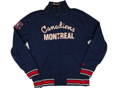 Montreal Canadiens Reebok NHL CN CCM Fleece Track Jacket