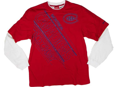 Montreal Canadiens Reebok NHL CN CCM Long Sleeve Applique Crew