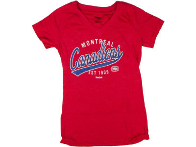 Montreal Canadiens Reebok NHL Womens CN Inspired T-Shirt