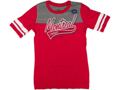 Montreal Canadiens Reebok NHL Womens CN Team Stripe T-Shirt