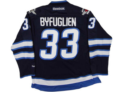 Winnipeg Jets Dustin Byfuglien Reebok NHL Premier Player Jersey