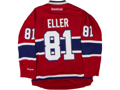 Montreal Canadiens Lars Eller Reebok NHL Men's Premier Player Jersey