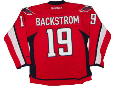 Washington Capitals Nicklas Backstrom Reebok NHL Premier Player Jersey