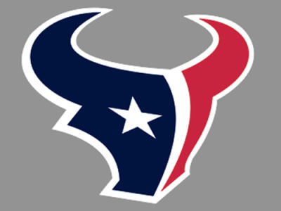 Houston Texans 4x4 Die Cut Decal Color