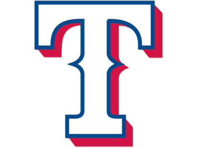 Texas Rangers Die Cut Color Decal 8in X 8in
