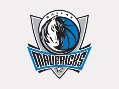 Dallas Mavericks 4x4 Die Cut Decal Color