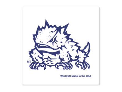 Texas Christian Horned Frogs Tattoo 4-pack
