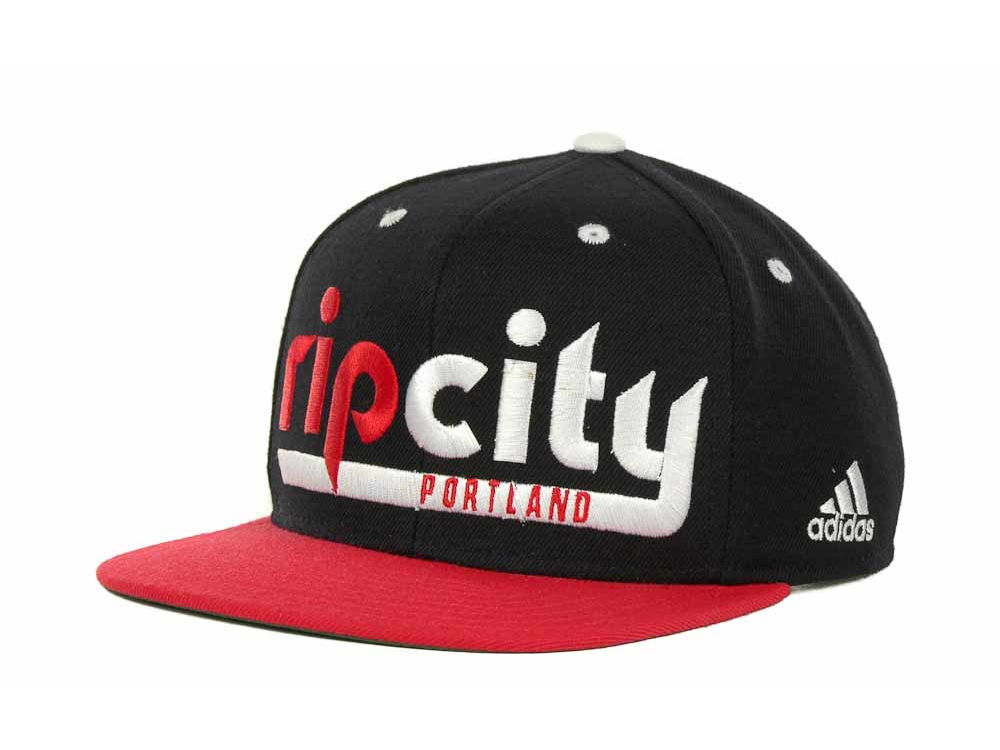 new concept 698e0 02ea9 ... amazon portland trail blazers adidas nba rip city snapback cap 3eb75  9f272