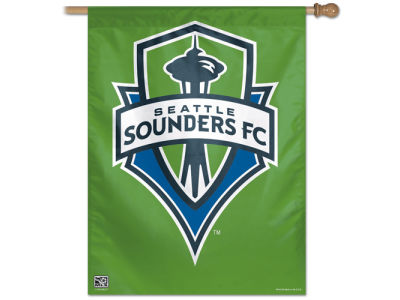 Seattle Sounders FC 27X37 Vertical Flag
