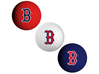 Boston Red Sox 3-pack Golf Ball Set