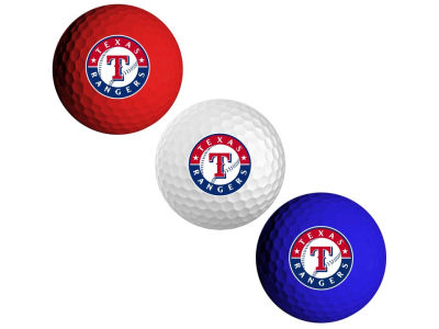 Texas Rangers 3-pack Golf Ball Set