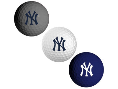 New York Yankees 3-pack Golf Ball Set