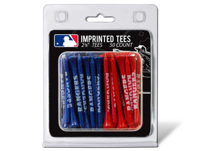 Texas Rangers 50pk Golf Tees
