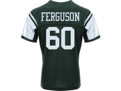 New York Jets D'Brickashaw Ferguson Nike NFL Men's Game Jersey