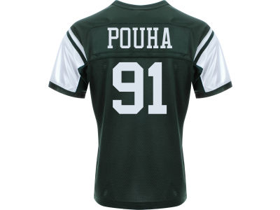 New York Jets Sione Pouha Nike NFL Men's Game Jersey