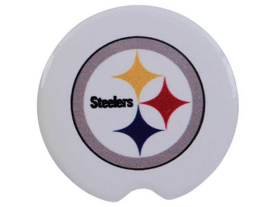 Pittsburgh Steelers 2 Pack Car Coasters