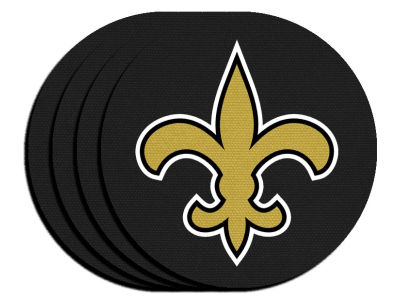 New Orleans Saints 4-pack Neoprene Coaster Set