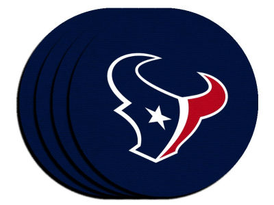 Houston Texans 4-pack Neoprene Coaster Set