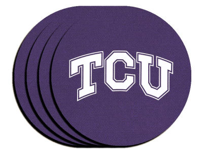 Texas Christian Horned Frogs 4-pack Neoprene Coaster Set