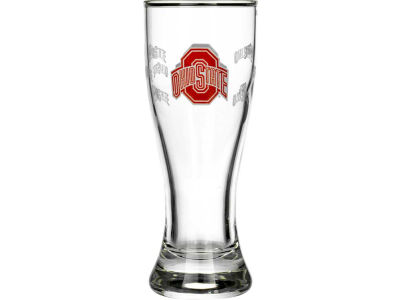 Ohio State Buckeyes Satin Etch Mini Pilsner