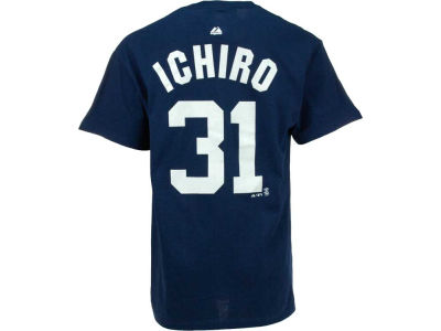 New York Yankees Ichiro Suzuki Majestic MLB Men's Player T-Shirt