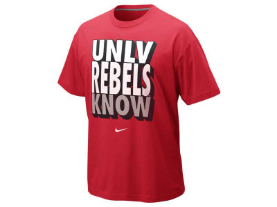 UNLV Runnin Rebels Nike NCAA Knows T-Shirt