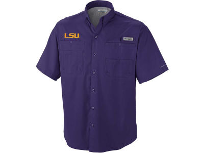 LSU Tigers Columbia NCAA Tamiami Shirt