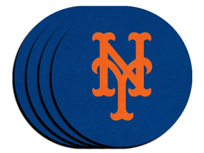 New York Mets 4-pack Neoprene Coaster Set