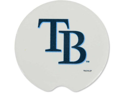 Tampa Bay Rays 2 Pack Car Coasters
