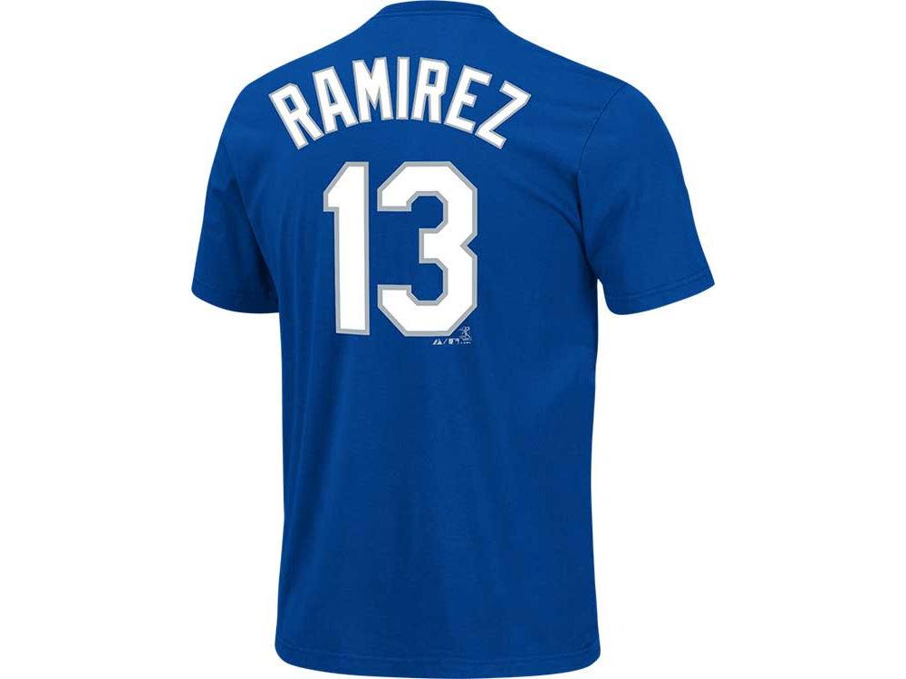 Los Angeles Dodgers Hanley Ramírez Majestic MLB Men s Player T-Shirt ... 96864db7b56