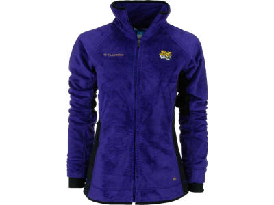 LSU Tigers NCAA Womens Pear Plush II Fleece