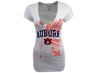 Auburn Tigers Hurley NCAA Ladies Hurley Burst V T-Shier