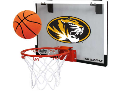 Missouri Tigers Game On Polycarb Hoop Set