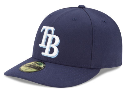 Tampa Bay Rays New Era MLB Low Profile AC Performance 59FIFTY Cap