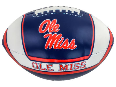 Ole Miss Rebels Softee Goaline Football 8inch