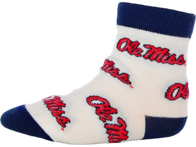 Ole Miss Rebels For Bare Feet NCAA Infant All Over Sock