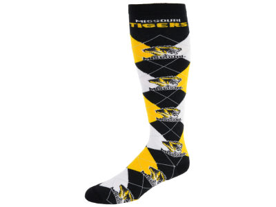 Missouri Tigers Argyle Knee High Sock