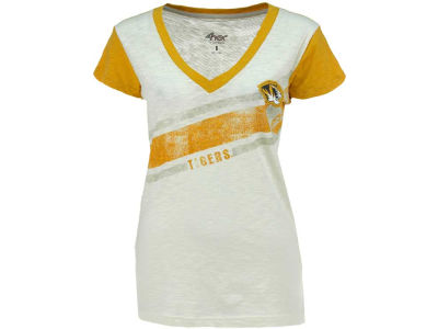 Missouri Tigers G-III Sports NCAA Womens Zone Coverage Vneck T-Shirt