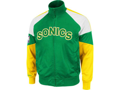 Seattle SuperSonics Mitchell and Ness NBA First Quarter Track Jacket