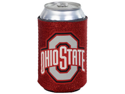 Ohio State Buckeyes Glitter Can Coozie