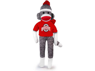 "Ohio State Buckeyes 20"" Sock Monkey"