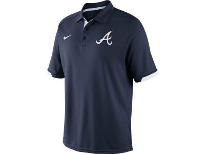 Atlanta Braves Nike MLB Men's AC Dri-Fit Training Polo Shirt