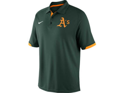 Oakland Athletics Nike MLB Men's AC Dri-Fit Training Polo Shirt