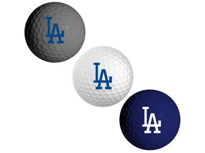 Los Angeles Dodgers 3-pack Golf Ball Set