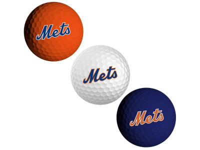 New York Mets 3-pack Golf Ball Set