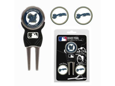 Milwaukee Brewers Divot Tool and Markers