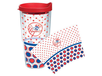 New York Yankees 24oz. Polka Dot Tumbler With Lid