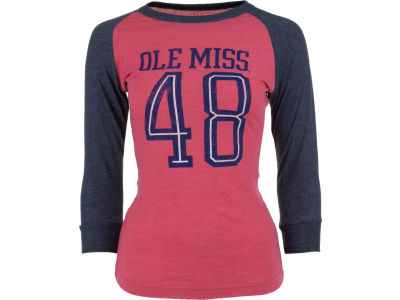 Ole Miss Rebels NCAA Women's XP My Favorite Baseball T-Shirt